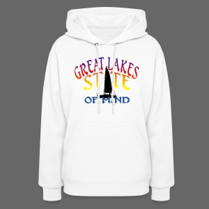 Great Lakes State of Mind - Women's Hoodie