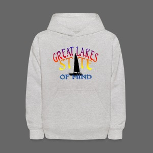 Great Lakes State of Mind - Kids' Hoodie