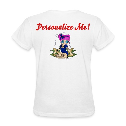 Illinois Women's Relaxed Fit T-Shirt *PERSONALIZE NAME* - Women's T-Shirt