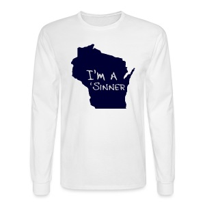 I'm a 'Sinner - Men's Long Sleeve T-Shirt