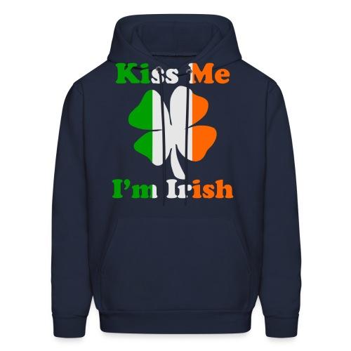 Kiss Me I'm Irish Hoodies - Men's Hoodie