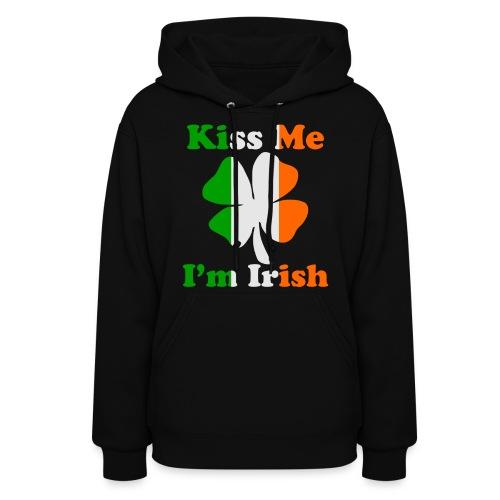 Kiss Me I'm Irish Hoodies - Women's Hoodie
