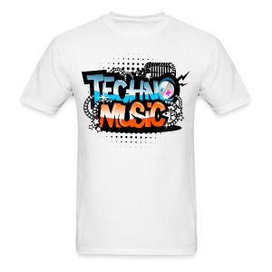 Techno Music - Men's T-Shirt