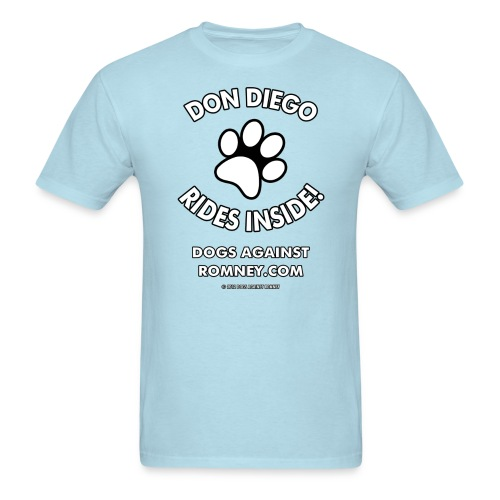 Dogs Against Romney Custom Don Diego Tee - Men's T-Shirt