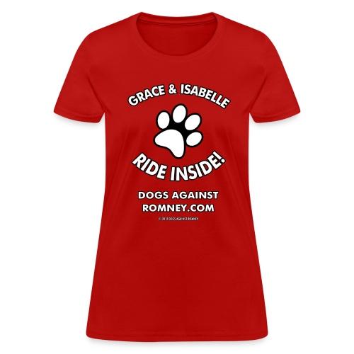 Dogs Against Romney Custom Grace & Isabelle Tee - Women's T-Shirt