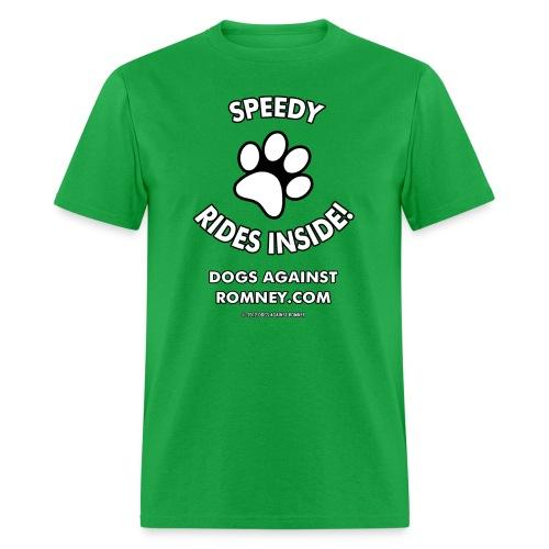 Dogs Against Romney Custom Speedy Tee - Men's T-Shirt