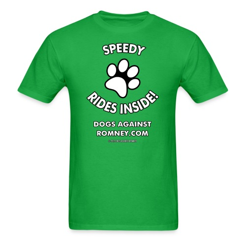 Dogs Against Romney Custom Speedy Tee - Men's T-Shirt