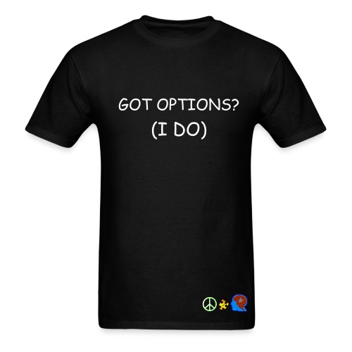 THE OFFICIAL OODLES OF OPTIONS TEE - MEN - Men's T-Shirt