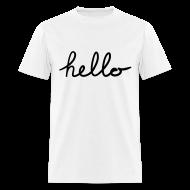 T-Shirts ~ Men's T-Shirt ~ Hello