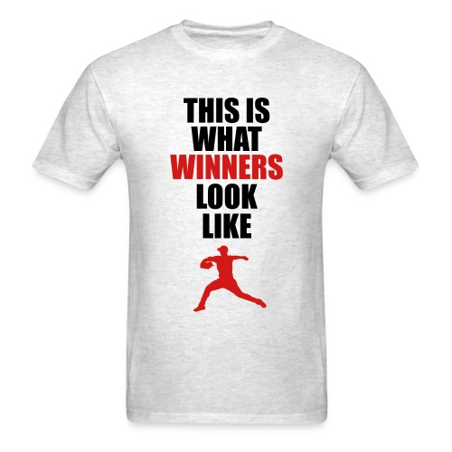 G47 - Black & Red - This is what winners look like - T-shirt  - Men's T-Shirt