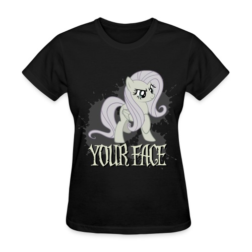 Your Face - Women's T-Shirt