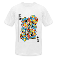 T-Shirts ~ Men's T-Shirt by American Apparel ~ Ace of Spade by sweatyeskimo.co.uk