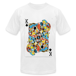 Ace of Spade by sweatyeskimo.co.uk - Men's T-Shirt by American Apparel