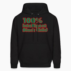 100% Intelligent Black Child 2 Hoodies