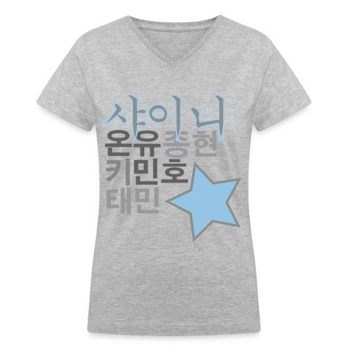SHINee - Women's V-Neck T-Shirt