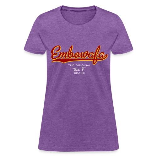Dr. B Brand Embo - Women's T-Shirt