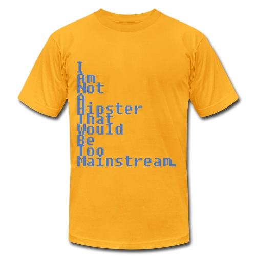 Not A Hipster - Men's Fine Jersey T-Shirt