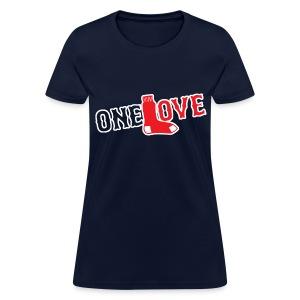Womens Boston Baseball One Love Shirt - Women's T-Shirt