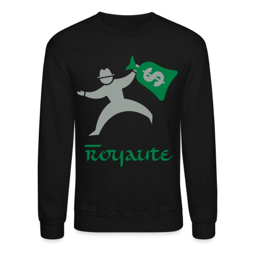 Royaute Money Man - Crewneck Sweatshirt
