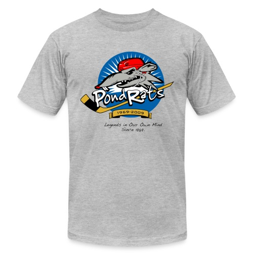 Pondrats Legends on Men's American Apparel  T  - Men's Fine Jersey T-Shirt