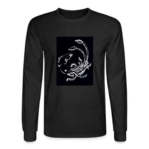 Red Devil - Mens Longsleeve Negative - Men's Long Sleeve T-Shirt
