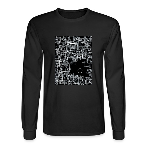 There is One Out There - Mens Longsleeve Negative - Men's Long Sleeve T-Shirt