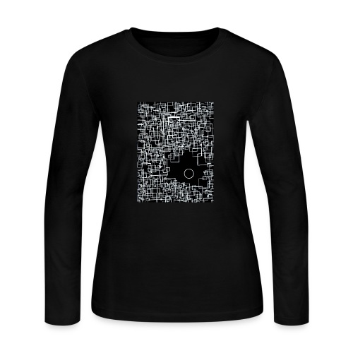 There is One Out There - Womens Longsleeve Negative - Women's Long Sleeve Jersey T-Shirt