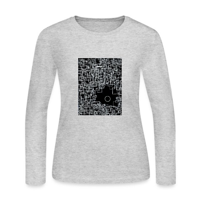 There is One Out There - Womens Longsleeve Negative