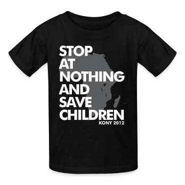 STOP AT NOTHING Kids' Shirts