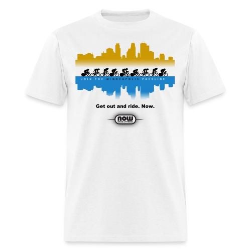 Minneapolis paceline t-shirt - Men's T-Shirt