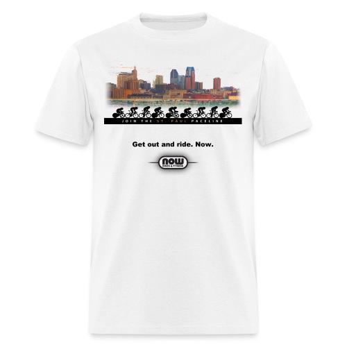 St. Paul paceline t-shirt - Men's T-Shirt