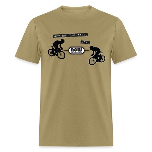 Now Bikes T-Shirt - Men's T-Shirt