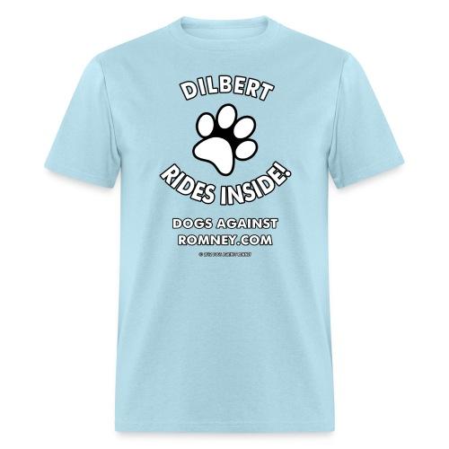 Official Dogs Against Romney Dilbert Tee - Men's T-Shirt