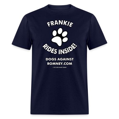 Official Dogs Against Romney Frankie Men's Tee - Men's T-Shirt
