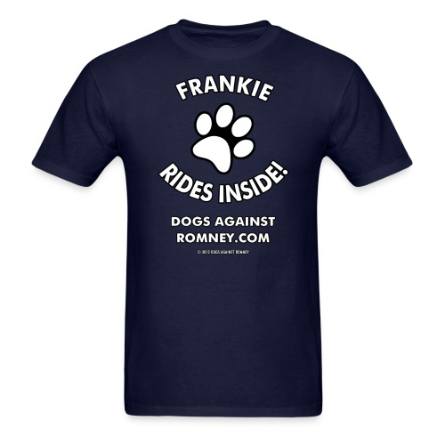 Official Dogs Against Romney Frankie Men's Tee - Men's T-Shirt