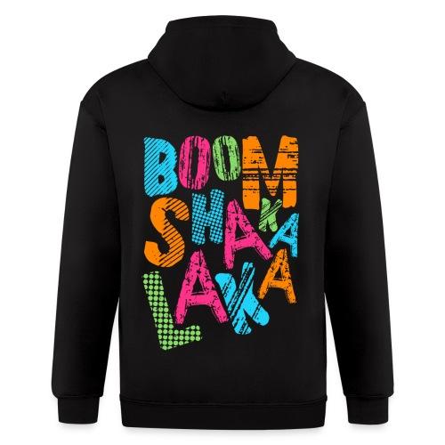 [BB] Boom Shakalaka - Men's Zip Hoodie