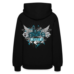 Not Just For Boys on Black Hoodie - Women's Hoodie