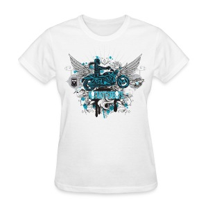 Not Just For Boys on White - Women's T-Shirt