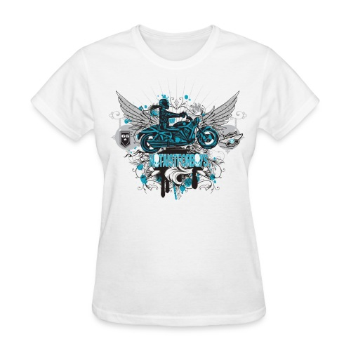 Not Just For Boys on White - Women's T-Shirt