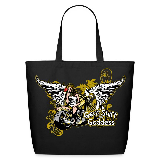 Gear Shift Goddess on Tote