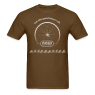 T-Shirts ~ Men's T-Shirt ~ Let the Good Times Roll - Now Bikes T-Shirt