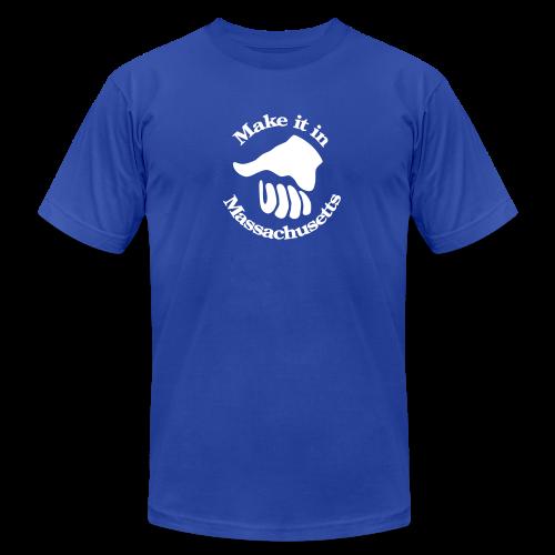 Make It In Massachusetts - Men's  Jersey T-Shirt