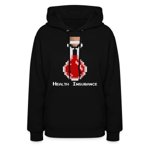 Health Coverage Women's Hooded Sweatshirt - Women's Hoodie
