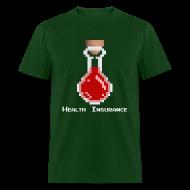 T-Shirts ~ Men's T-Shirt ~ Health Coverage Men's Standard Weight T-Shirt