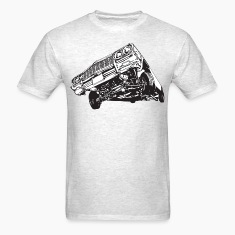 3 Wheel Stance HD Design T-Shirts