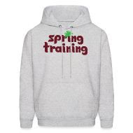 Hoodies ~ Men's Hoodie ~ Philly Spring Training Hooded Sweatshirt V2