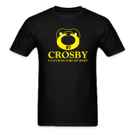 T-Shirts ~ Men's T-Shirt ~ Crosby Canadian For Cry Baby