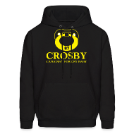 Hoodies ~ Men's Hoodie ~ Crosby Canadian For Cry Baby Sweatshirt