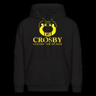 Hoodies ~ Men's Hoodie ~ Crosby Canadian For Cry Baby Sweatshirt