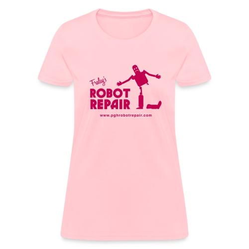 Robot in distress - Women's T-Shirt